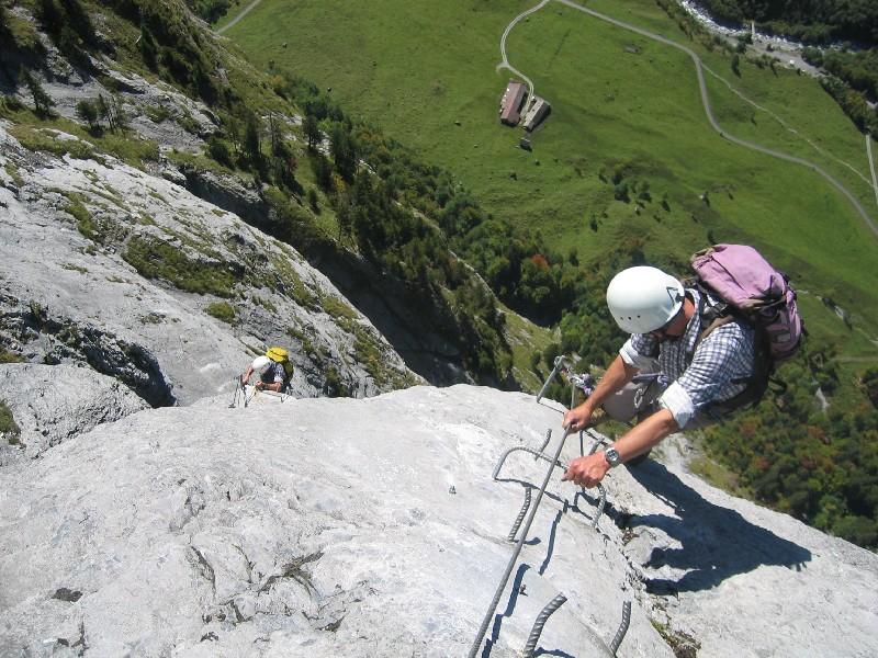 Klettersteig Fürenwand : Sac gotthard fotogalerie klettersteig fürenalp aab