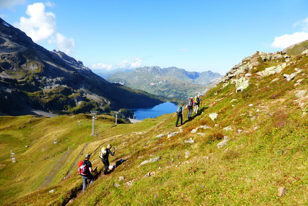 Klettersteig Jochpass : Sac gotthard fotogalerie klettersteig graustock bei engelberg