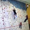 Klettern in der Turnhalle Jagdmatt in Erstfeld