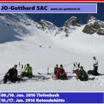 J&S Lawinen- und Skitourenkurs 2016