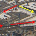 Zugang zur Kletterhalle Andermatt