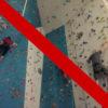 Klettern in der Kletterhalle in Andermatt leider nicht möglich