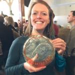 Auszeichnung für Tourenleiterin Sophie Andrey