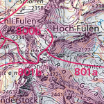Schneeschuh- und Skirouten auch auf maps.geo.admin.ch
