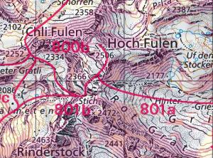 Schneeschuh- und Skirouten auch auf maps.geo.admin.ch on