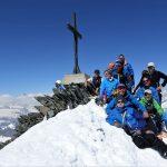 Skitouren Britanniahütte 25.-28.5.17