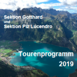 Tourenprogramm 2019