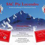 Sonderausstellung zum Jubiläum 100 Jahre Sektion Piz Lucendro